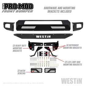 Pro-Mod Front Bumper 58-41065