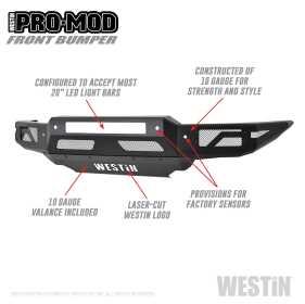Pro-Mod Front Bumper 58-41085