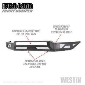 Pro-Mod Front Bumper 58-41165