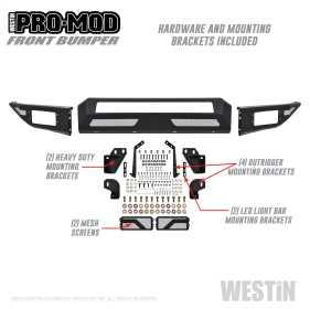 Pro-Mod Front Bumper 58-41175