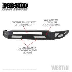 Pro-Mod Front Bumper 58-41205
