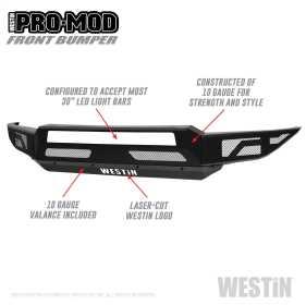 Pro-Mod Front Bumper 58-41215