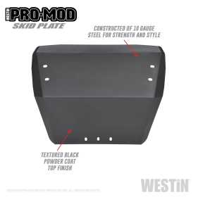 Outlaw Bumper Skid Plate 58-71085