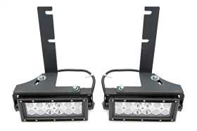 Rear Bumper LED Light Bar Bracket